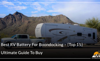 Best RV Battery For Boondocking