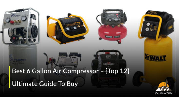 Best 6 Gallon Air Compressor
