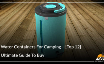 Water Containers For Camping – {Top 12}