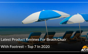Beach Chair With Footrest