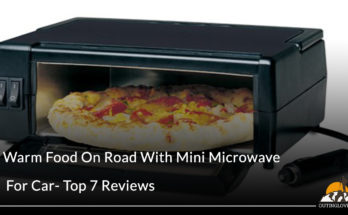 Warm Food On Road With Mini Microwave For Car