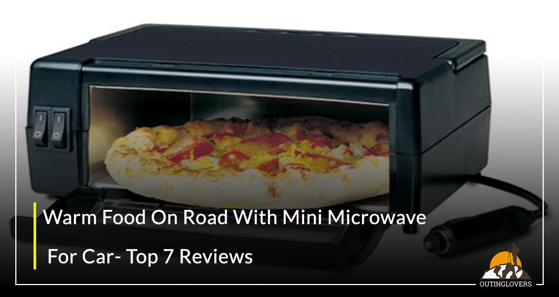 Warm Food On Road With Mini Microwave