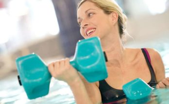 water filled dumbbells