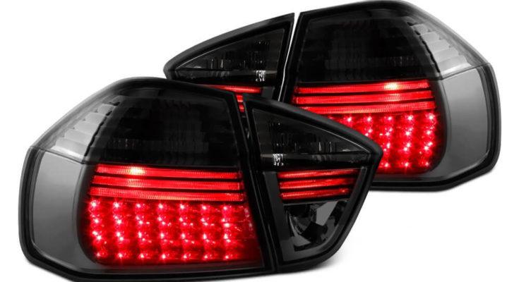 smoked tail lights